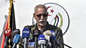Brahim Ghali, leader of the Polisario Front