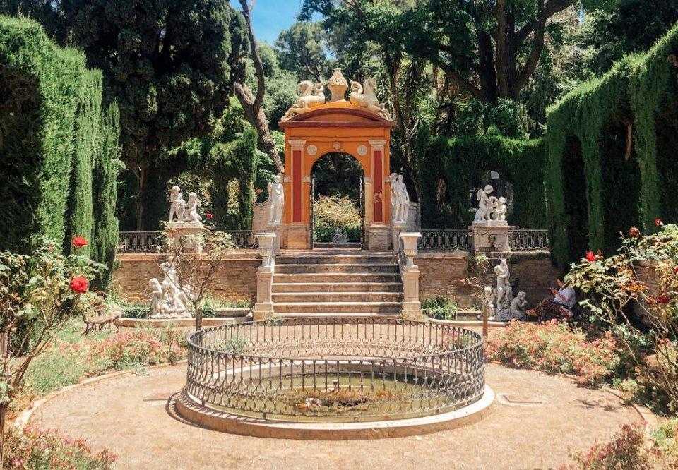 Jardines de Montefort.