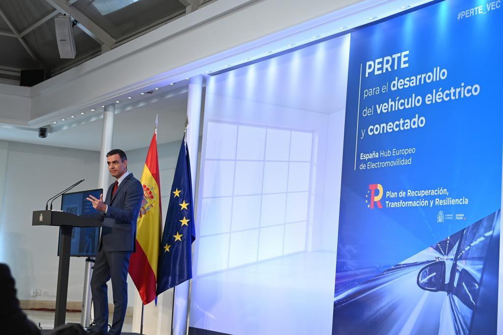 Spanish PM Pedro Sánchez