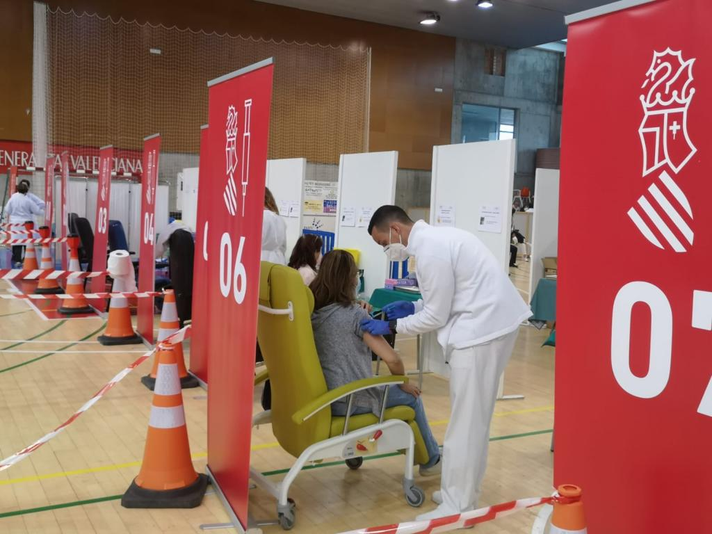 Vaccinations being carried out in Valencia