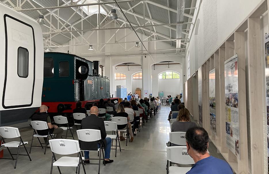 Railway Museum in Vilanova