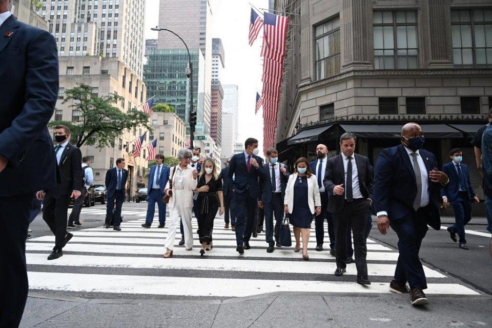 Pedro Sánchez in New York