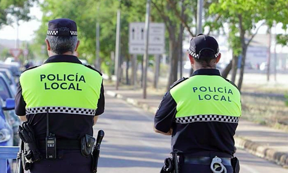 Local police in Extremadura.
