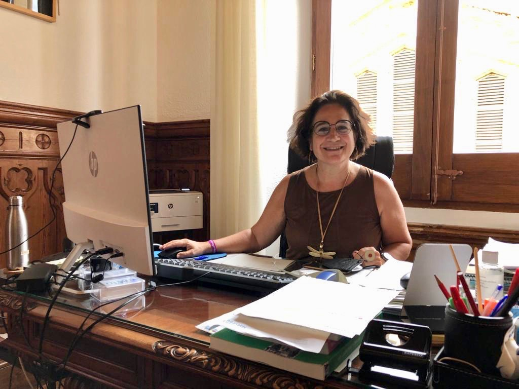 Aurora Carbonell, Mayor of Sitges