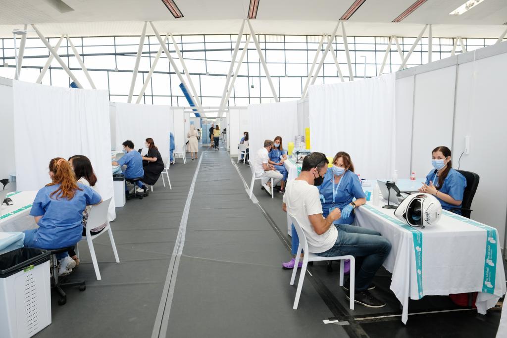 Vaccinations in Catalonia.