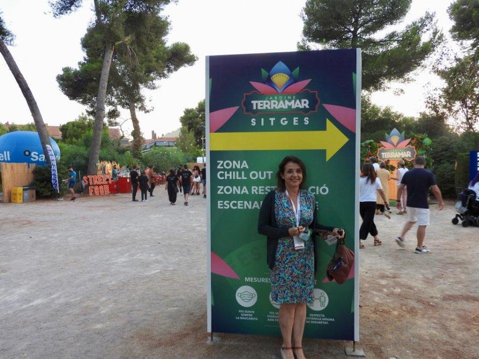 Susana Preston at the Sitges Terramar Festival.