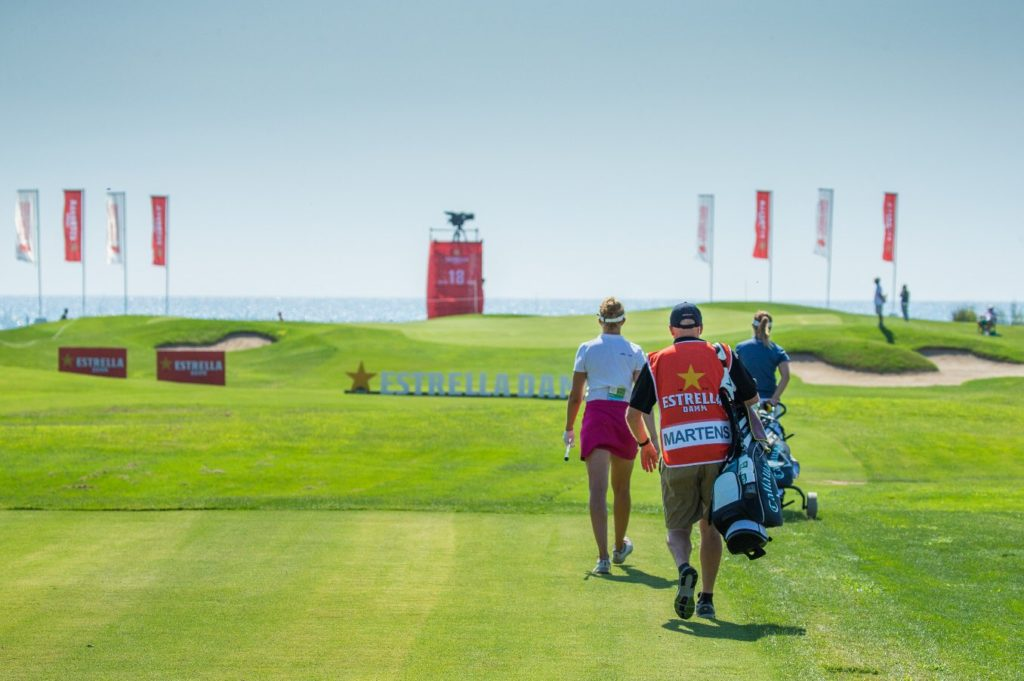 Estrella Damm Golf.