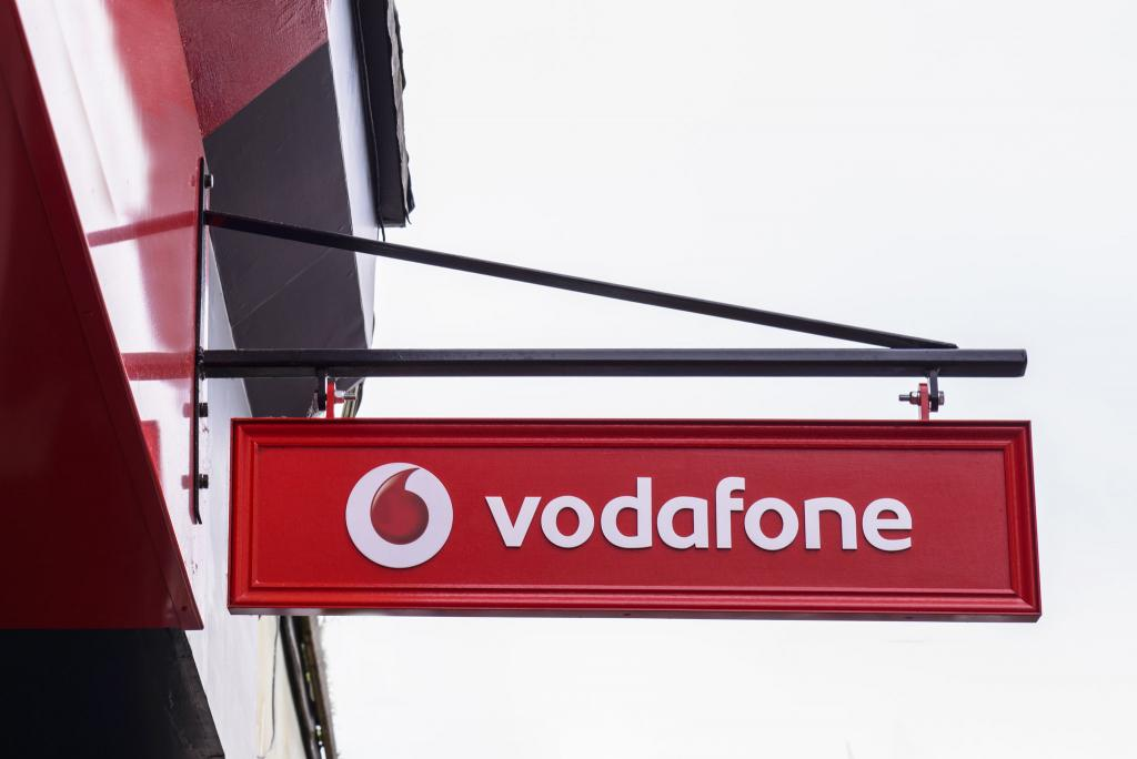 Vodafone library image.