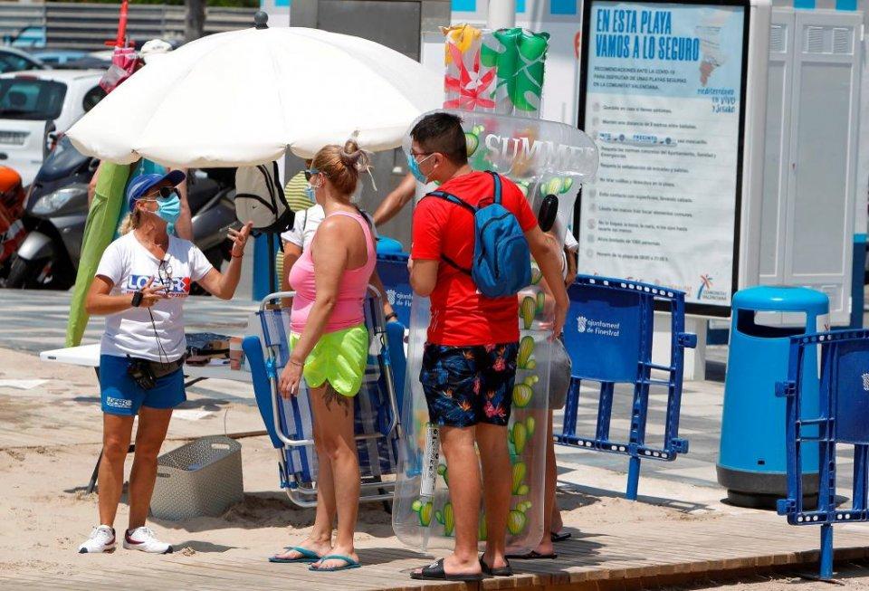 Tourists in Valencia this summer. (GVA.es)