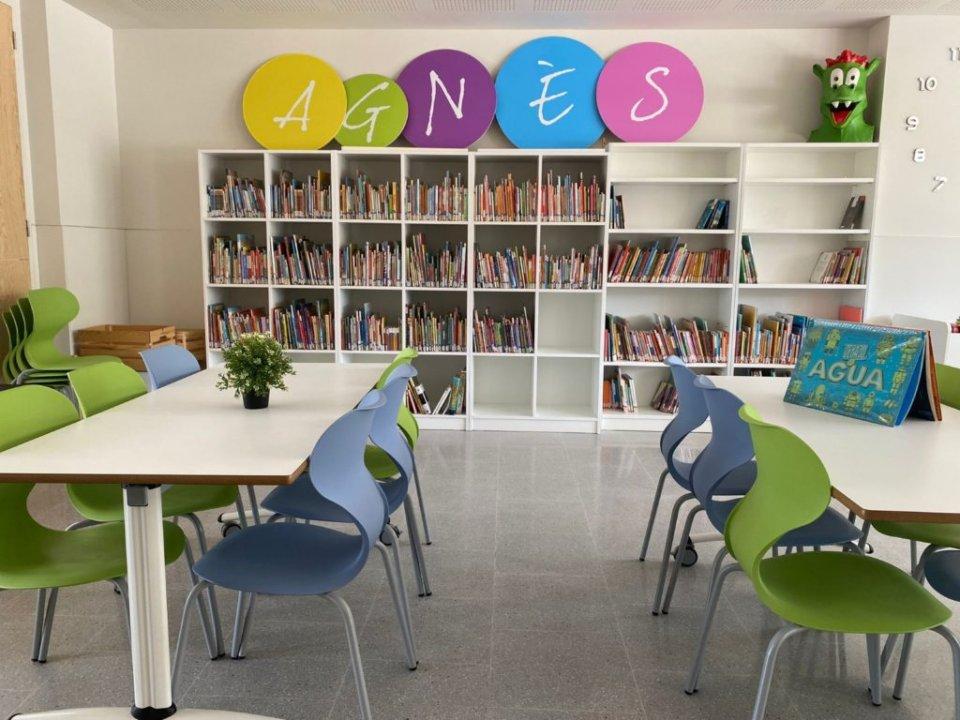 A classroom at the Agnès School.