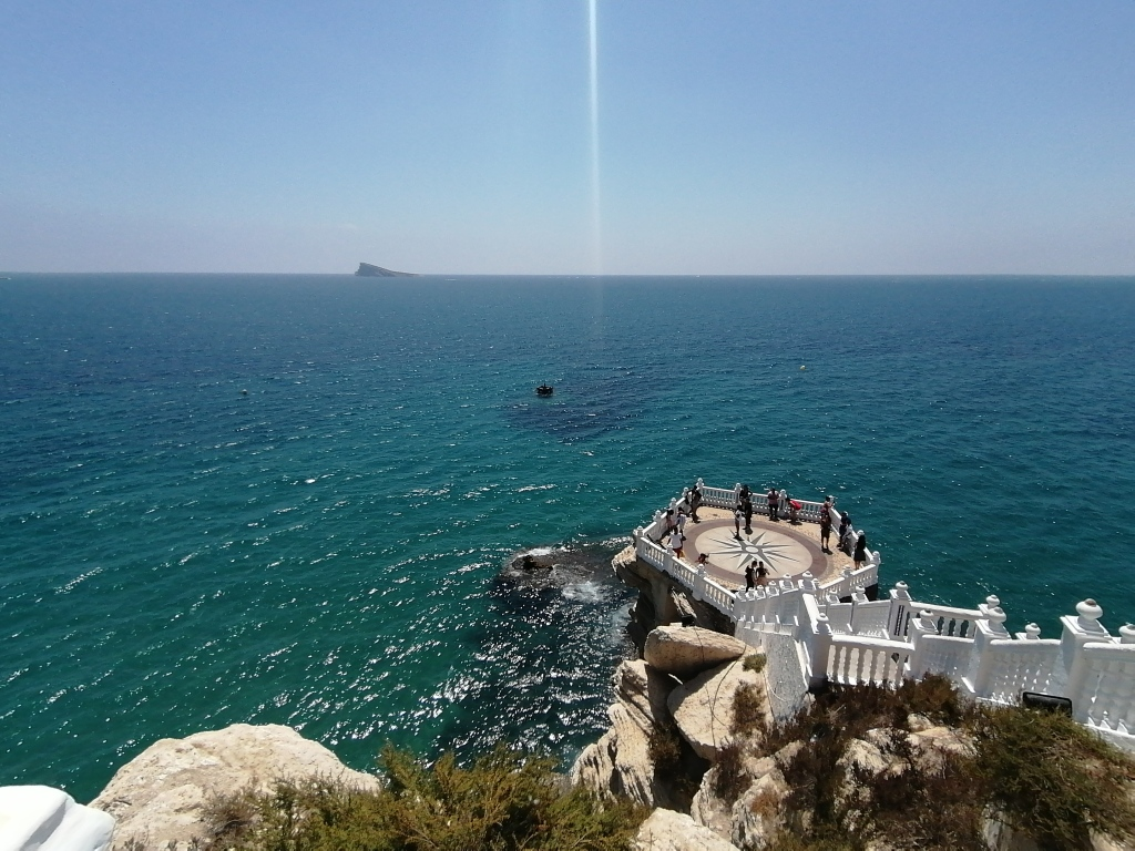 Viewpoint of Punta Canfali in Benidorm.