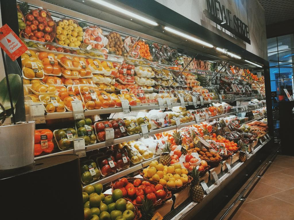 Library image of supermarket.